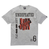 Undefeated: Classified Shirt - Grey Heather