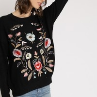Dream Believer Embroidered Sweater | Ruche