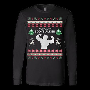 Bodybuilder Ugly Christmas Sweater