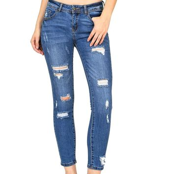 Candid Cropped Skinny Jeans