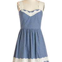 ModCloth Americana Mid-length Sleeveless Got It Down Home Dress