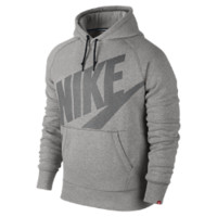 Nike AW77 Fleece Pullover Men's Hoodie Size XXL (Grey)