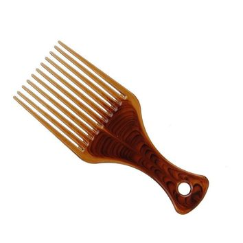 Men's Vintage Haircut Pompadour Comb Beard Brush Hairstyles Hair Styling Tools Barber Salon Home