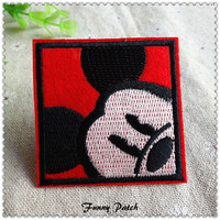 Mickey Mouse Iron on Patches 27-H