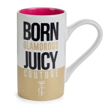 Born Glamorous Juicy Couture Tall Mug