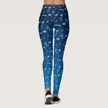 Blue Notes Leggings