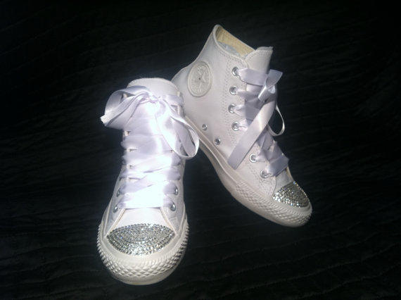 Custom Converse Wedding Shoes Chuck From Coutureconverse On