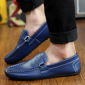 Mens Cool Stitch Slip-On Loafers