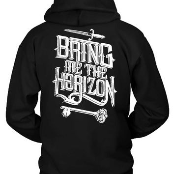 Bring Me The Horizon Sword Hoodie Two Sided
