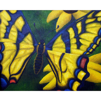 Transform and Be Free - Professional Prints of Acrylic Paint Butterfly Fine Art