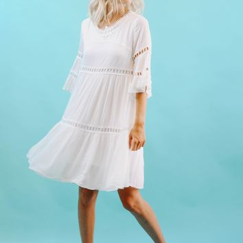Sugar Pie Ivory Dress