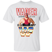 VADER WWE WWF WCE HEAVYWEIGHT CHAMPION T-Shirt 2