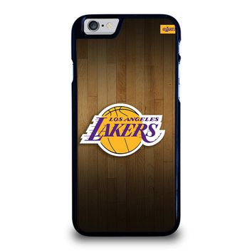 LA LAKERS BASKETBALL WOODEN iPhone 6 / 6S Case