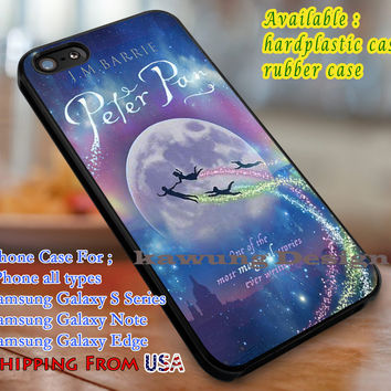 Magical Stories, Peter Pan, case/cover for iPhone 4/4s/5/5c/6/6+/6s/6s+ Samsung Galaxy S4/S5/S6/Edge/Edge+ NOTE 3/4/5 #cartoon #disney #animated #movie #peterpan dl1