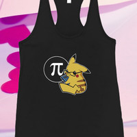 Pikachu Pokemon For Tank top women and men unisex adult