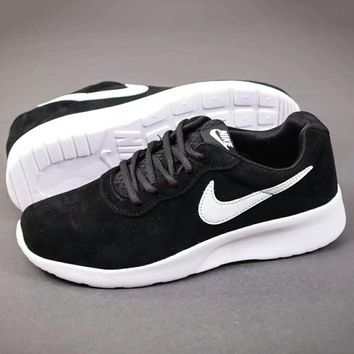 NIKE Women Men Fashion Casual Trending Running Sport Casual Shoes Sneakers Black G-A-YYMY-XY