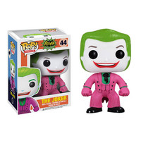 The Joker 1966 Batman TV Series Pop Heroes Vinyl Figure