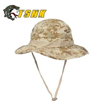 S.N.K. Outdoors Military Tactical BONNIE HATS Round-brimmed Sun Hunting Cap For Cosplay CAMPING Climbing (Many colors)