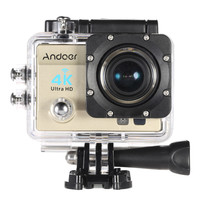 Gold Andoer 2 Ultra-HD LCD Camera with Diving 30-meter Waterproof Case
