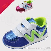 High Quality Kids N Sports shoes flashing girls shoes Children's Casual Shoes glitter shoes Free shipping