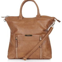 Oversized Holdall - Tan
