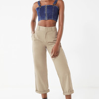 Dickies Cuffed Cropped Work Pant | Urban Outfitters