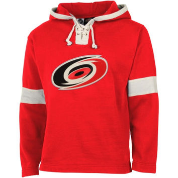 Old Time Hockey Carolina Hurricanes Grant Lace Hoodie