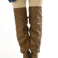 Love & Happiness Boots: Taupe