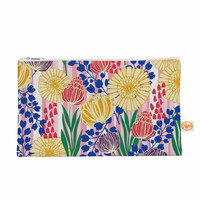 """Amy Reber """"Pretty Bouquet"""" Yellow Floral Everything Bag"""