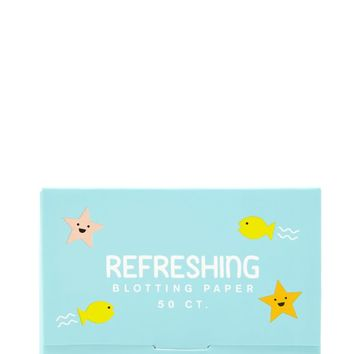 Refreshing Blotting Paper
