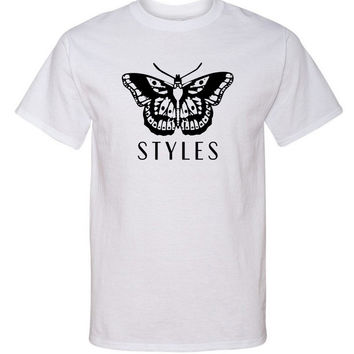 "Harry Styles ""Butterfly Tattoo / Styles"" T-Shirt"
