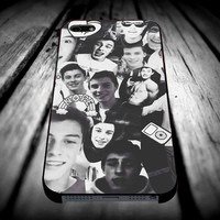 Shawn mendes Black and White Collage iPhone 4/4s/5/5s/5c/6/6 Plus Case, Samsung Galaxy S3/S4/S5/Note 3/4 Case, iPod 4/5 Case, HtC One M7 M8 and Nexus Case **