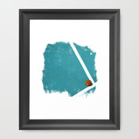 Tennis Framed Art Print by Matt Irving