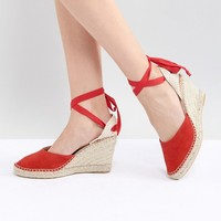 Park Lane Espadrille Wedges at asos.com