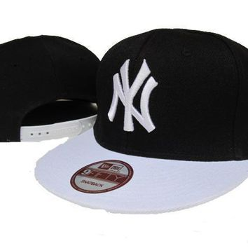 ESBON New York Yankees New Era MLB 9FIFTY Hat Black-White
