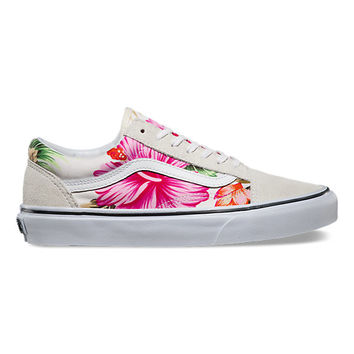 Hawaiian Floral Old Skool | Shop Classic Shoes at Vans