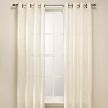 B. Smith Origami Grommet Window Curtain Panels