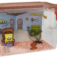 Penn-Plax SpongeBob Living Room Aquarium Kit