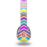 Zig Zag Colors 04 Decal Style Skin - fits genuine Beats Solo HD Headphones (HEADPHONES NOT INCLUDED)