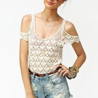 Crochet Away Top in What's New at Nasty Gal