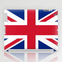 UK FLAG - The Union Jack Authentic color and 3:5 scale  iPad Case by LonestarDesigns2020 - Flags Designs +