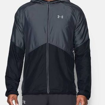 Under Armour Men's UA Storm No Breaks Jacket Mens Reflective Run Jacket