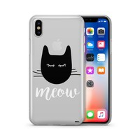 Meow - Clear Case Cover