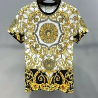 Versace Women Men Fashion T-Shirt Top Tee