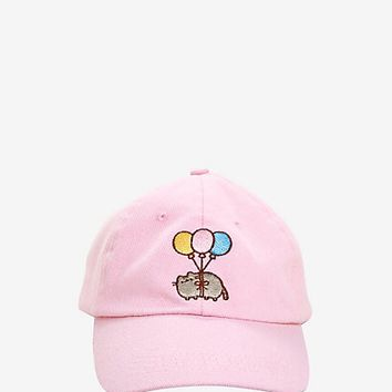 Pusheen Balloons Dad Cap