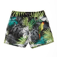 AGUA BENDITA Bendito Joe Black Tropic Kids Swim Short