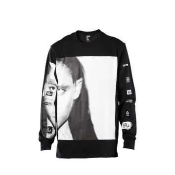 Hood By Air Morph Movie Long Sleeve Tee (Black)