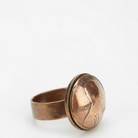 Autopilot Empires X Urban Renewal Dome Penny Ring - Urban Outfitters