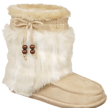 Dr. Scholl's Chewy Faux-Fur Cold Weather Boots