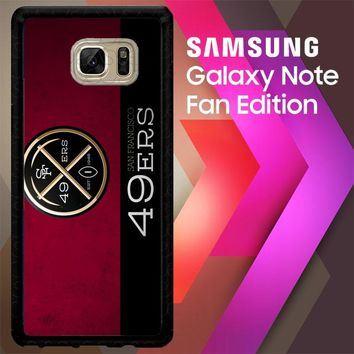 49Ers Logo Z4472 Samsung Galaxy Note FE Fan Edition Case